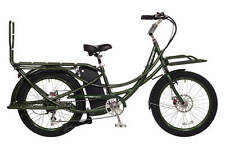 Pedego Stretch Electric Cargo Bike 48V17AH Authorized Dealer Olive Green NEW