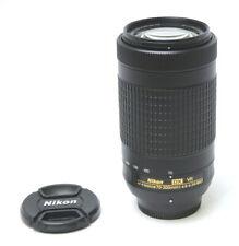 Nikon DX VR AF-P 70-300mm 1:4.5-6.3 G ED Lens Used Excellent Condition