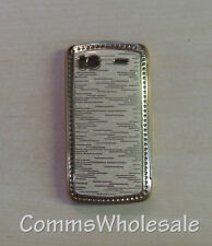 Hard Bling Rear Skin Case For HTC Sensation G14 - NEW