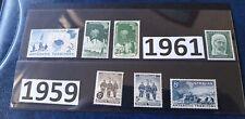 1957-61 AAT Pre Decimal Stamps Set Of 7 Mint Never Hinged