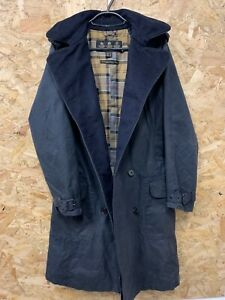 Ladies Barbour Valerie Trench Double Breasted Overcoat Jacket Rain Coat UK 10