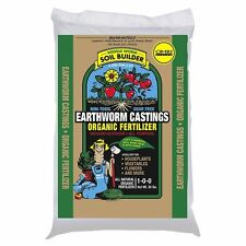 Unco Industries Wiggle Worm Organic Earthworm Castings Fertilizer, 30Pound., New