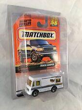 MATCHBOX 1999 #58 Truck Camper - Mint to NM Card in Protective Case