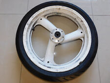 Yamaha FZR 1000 EXUP 3LE Vorderrad Felge vorne Reifen 90%
