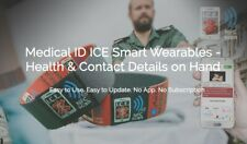 Medical ID Bracelet - SOS Alert NFC Smart Wristband