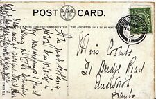 Family History Postcard - Coombs - Bridge Rd - Emsworth - Hampshire - Ref 2502A