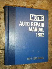 1977-1982 MOTOR'S AUTO REPAIR MANUAL CHEVY FORD DODGE AMC HORNET CAMARO MUSTANG