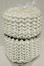 "Commercial Coffee Filters (Approx. 750 Filters) 4 1/2"" Base, 2 5/8"" Deep"