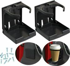 New Listing2x Universal Car Van Folding Cup Holder Drink Holders for Vehicle Boat Marine Rv