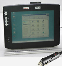 """Dlog Mpc5 Mobile PC 10,4 """" 26 cm Touch Screen for Dos Win 2x Rs 232 Car Adapter"""