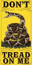 New DON'T TREAD ON ME 30 X 60 TOWEL / FLAG  / PENANT  GADSDEN TEA PARTY
