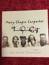 "Authentic MARY CHAPIN CARPENTER  HAND SIGNED Autograph CD ""Party Doll Cover"""