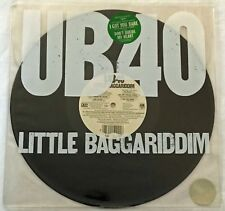 Little Baggariddim UB40 Vinyl EP Promo Record A&M Records Virgin CHRISSIE HYNDE