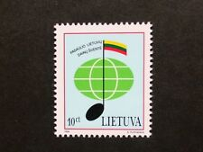 Lithuanians of the world song festival stamp, 1994, Lithuania, SG ref: 566, MNH