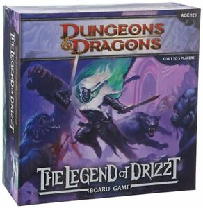 LEGEND OF DRIZZT BOARD GAME  A DUNGEONS AND DRAGONS BOARD GAME
