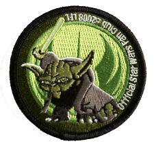 Star Wars - Special - Star Wars Fanclub 2008 - Yoda Logo- Uniform Patch Aufnäher
