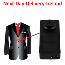 Button Shirt DVR Cam Hidden Spy Video Camera Recorder Wireless Camcorder New