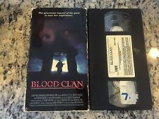 BLOOD CLAN VERY RARE VHS! NOT ON U.S. DVD 1990 GOTHIC HORROR MICHELLE LITTLE HTF