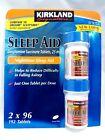 Kirkland Signature Sleep Aid Sleeping Pills 192 Tablets 2 x 96 Bottle Easy Grip