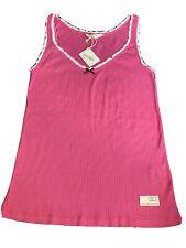 Odd Molly Rosa Costilla Jersey Camiseta sin mangas TALLA 3 UK14 Nuevo con etiquetas y bolsa.