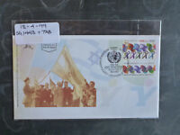 1999 ISRAEL ADMISSION TO THE UN 50yrs STAMP W/- TAB FIRST DAY COVER
