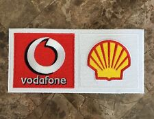 RARE Official Ferrari F1 Shell Vodafone Uniform Patch - Massa - Schumacher