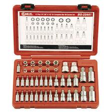 """Genius Tools 41pieces 1/4"""", 3/8"""", 1/2"""" Dr Torx Bit Socket Set - BS-23441"""
