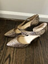 New, Other Liz Claiborne Women's  Snakeskin Pattern Shoes Size 10M Leather Heels