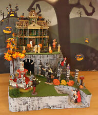 Halloween Display Platform Base for Dept 56 Snow Village Lemax Spooky Town 1