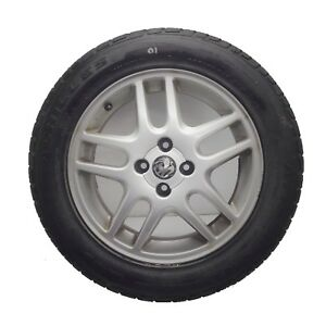 "⭐️ Vauxhall Astra  Genuine 16"" SRi Twin Spoke 4-Stud Alloy Wheel & 6mm Tyre #01"