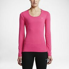 Nike Dri-FIT Contour Women's Long Sleeve Running Training Gym Top