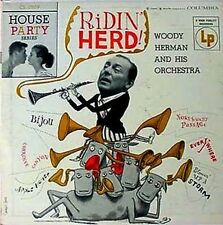 "WOODY HERMAN - RIDIN' HERD - COLUMBIA # 2509 - 10"" LP"