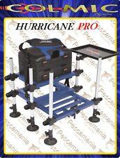 Panchetto Paniere da pesca COLMIC Hurricane Pro Leggero Comodo con cassetti