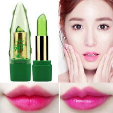 New Long Lasting 99% ALOE VERA Temperatur Jelly Lipstick Change Color Makeup