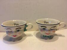 Baileys Irish Cream YUM Cups Winking Eye Mr & Mrs Coffee Mugs Tea Cups (many)