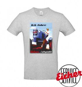 """T-Shirt """"Ich fahre - Eicher luftgekühlt"""""""