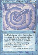 MTG Magic - Terres Natales -  Malédiction selon Baki  -  Rare VF