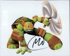 Greg Cipes Photo Signed In Person-Michelangelo Teenage Mutant Ninja Turtles-E424