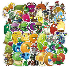 100pc No repeat Plants vs. Zombies Stickers pvz Luggage Decal Ornament Mark