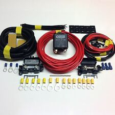 7mtr Split Charge Relay Kit/System With 100amp Relay + Leisure Battery Terminals