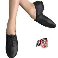 JAZZ DANCE SHOES *SALE* LEATHER SPLIT SUEDE SOLE PUMPS IRISH HARD JIG