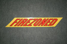 """Golden Fleece """"Firezoned"""" self-adhesive vinyl decal for petrol bowser"""