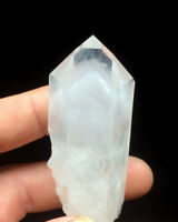 NEW FIND__VERY RARE DOW__LARGE Arkansas Quartz Crystal WHITE PHANTOM Point