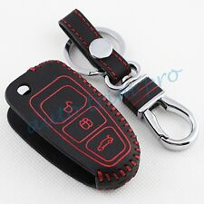 Key Case Keyfob Ring Cover Trim For Ford Focus Escape Kuga Fiesta 3 Button Parts