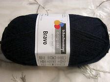 """Wolle-schachenmayr Original """"bravo"""" 50g filato - in 60 Parte dei colori 2 Fb.08223-marine"""