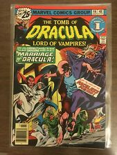 Tomb Of Dracula 46 VF Blade & Hannibal King appearances