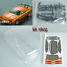 1/10 RC Drift Car PC Clear Body Shell 190mm For Dodge viper SRT8 190mm W/Sticker