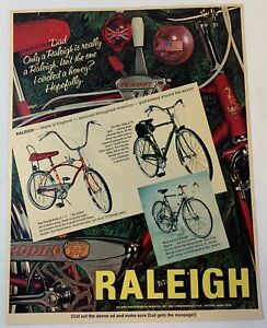 1967 RALEIGH bicycle ad ~ Rodeo 3+2, Sports, Record