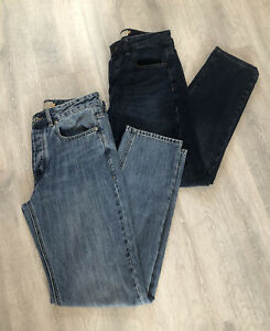 Mens Next Straight Jeans Bundle - 2 x Pairs - Blue -30 Inch Waist-Regular Length