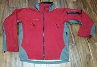 COLUMBIA TITANIUM OMNI-Tech Waterproof Nylon Shell Rain Ski Jacket Mens Medium